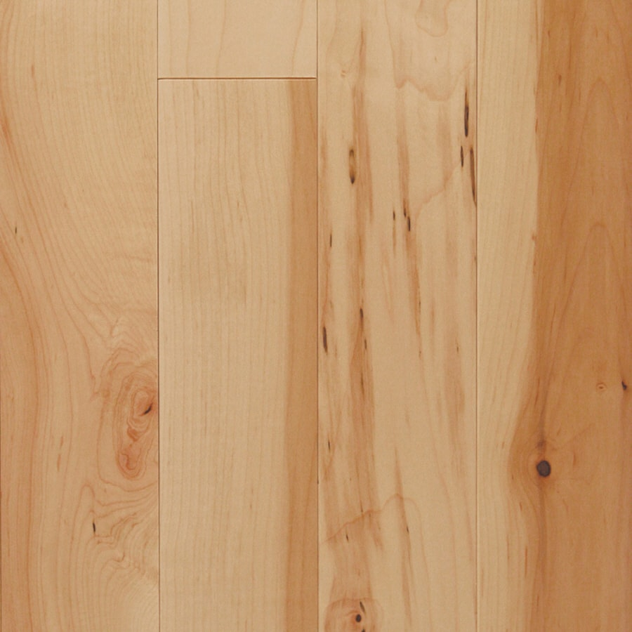 Shop mullican flooring nature 4 in natural maple hardwood for Maple flooring