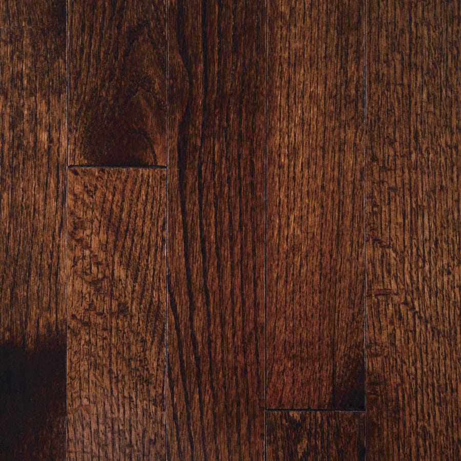 Mullican Flooring Mullican 3-in Dark Chocolate Oak Hardwood Flooring (24-sq ft)