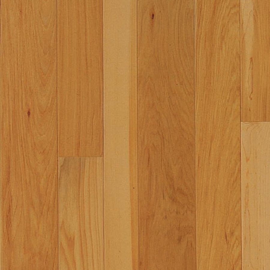 Shop mullican flooring muirfield 5 in w prefinished for Hickory flooring
