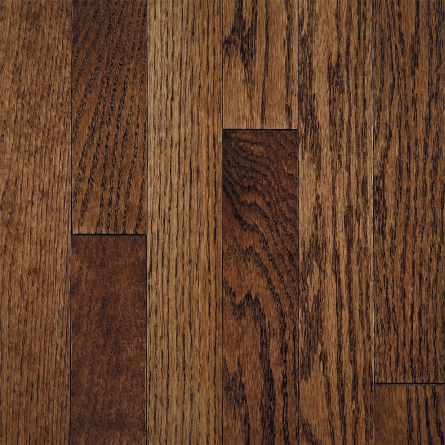 Shop mullican flooring muirfield 3 in w prefinished oak for Prefinished flooring