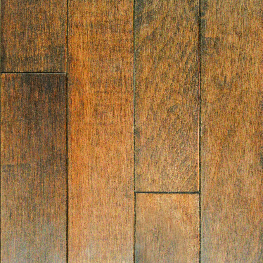 Mullican Flooring 4 In W Prefinished Maple Hardwood Autumn