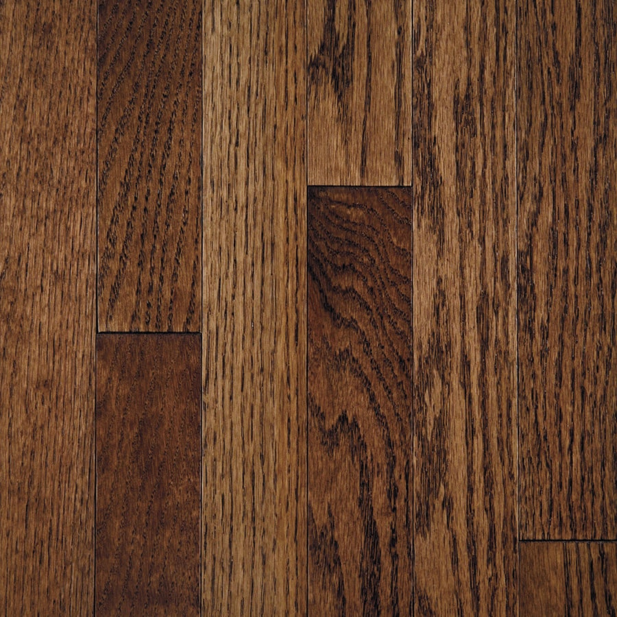 Mullican Flooring 3 In W Prefinished Oak Hardwood Tuscan Brown