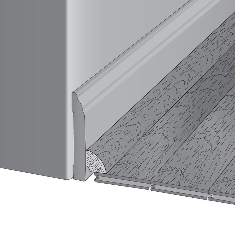 Mullican Flooring 0.78-in x 78-in Ebony Oak Quarter Round Floor Moulding