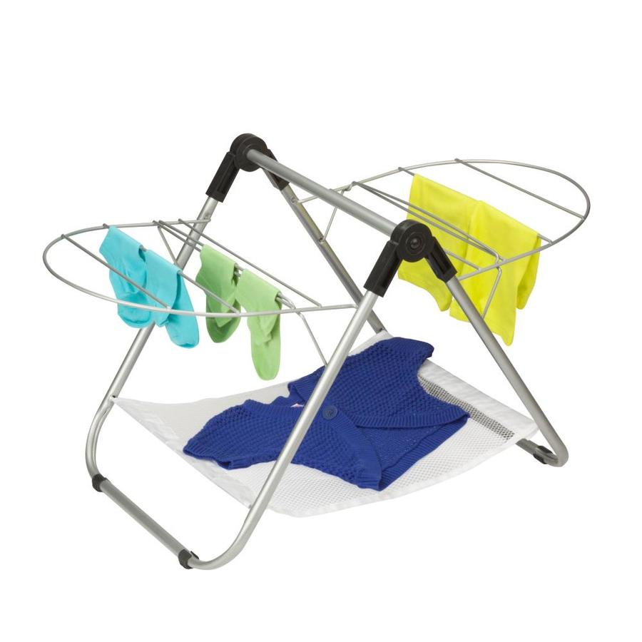 Honey-Can-Do 1-Tier Mixed Material Drying Rack