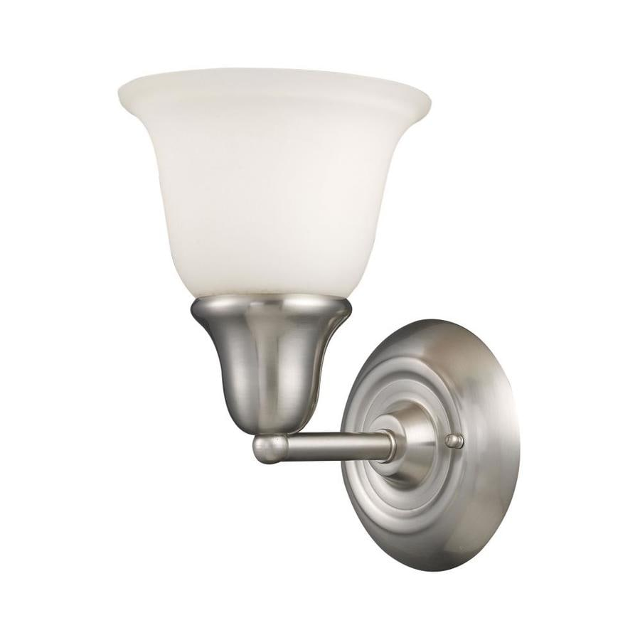 Westmore Lighting Ashington 1-Light Brushed Nickel Bell Vanity Light