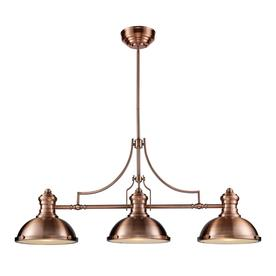 image kitchen island light fixtures. Westmore Lighting Chiserley 3Light Kitchen Island Light With Frosted Shade Image Fixtures