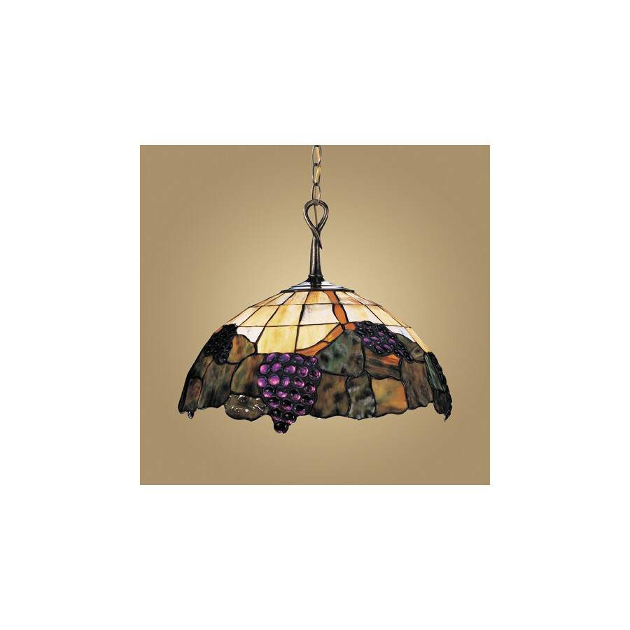 Antique Tiffany Hanging Lamp Value: Westmore Lighting Grapevine 17-in W Vintage Antique