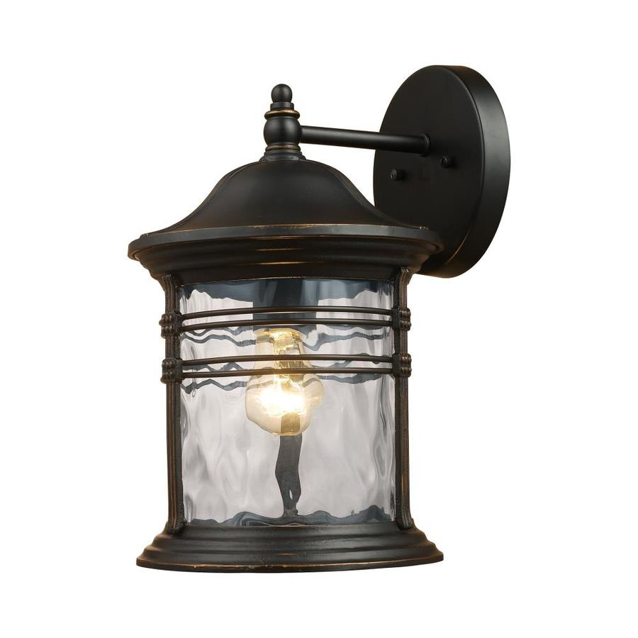 Westmore Lighting Madison 7-in W 1-Light Matte Black Arm Wall Sconce