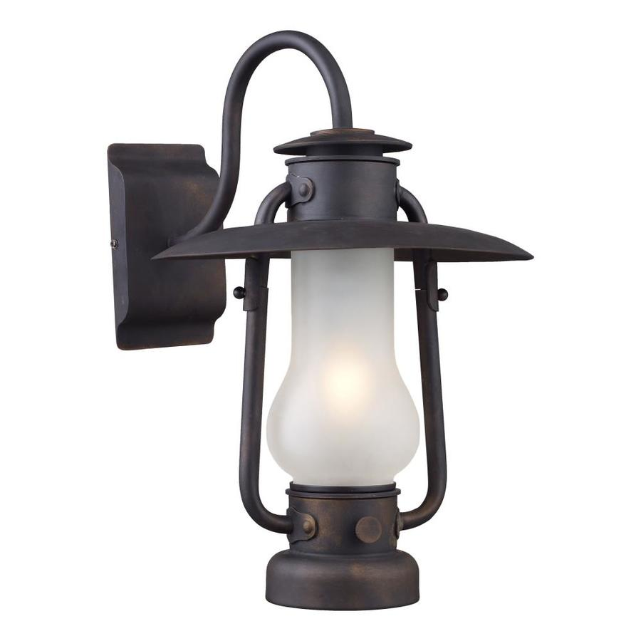 Westmore Lighting Chapman 12-in W 1-Light Matte Black Arm Hardwired Wall Sconce
