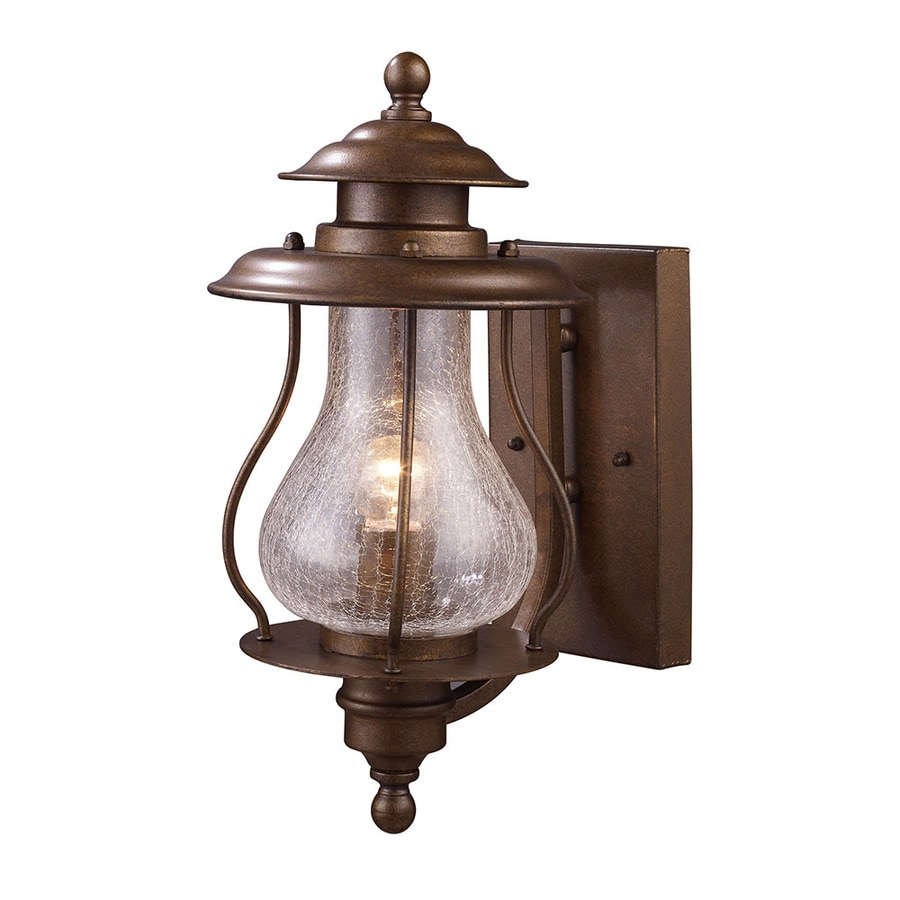 Westmore Lighting Truckee Rapids 15-in H Coffee Bronze Outdoor Wall Light
