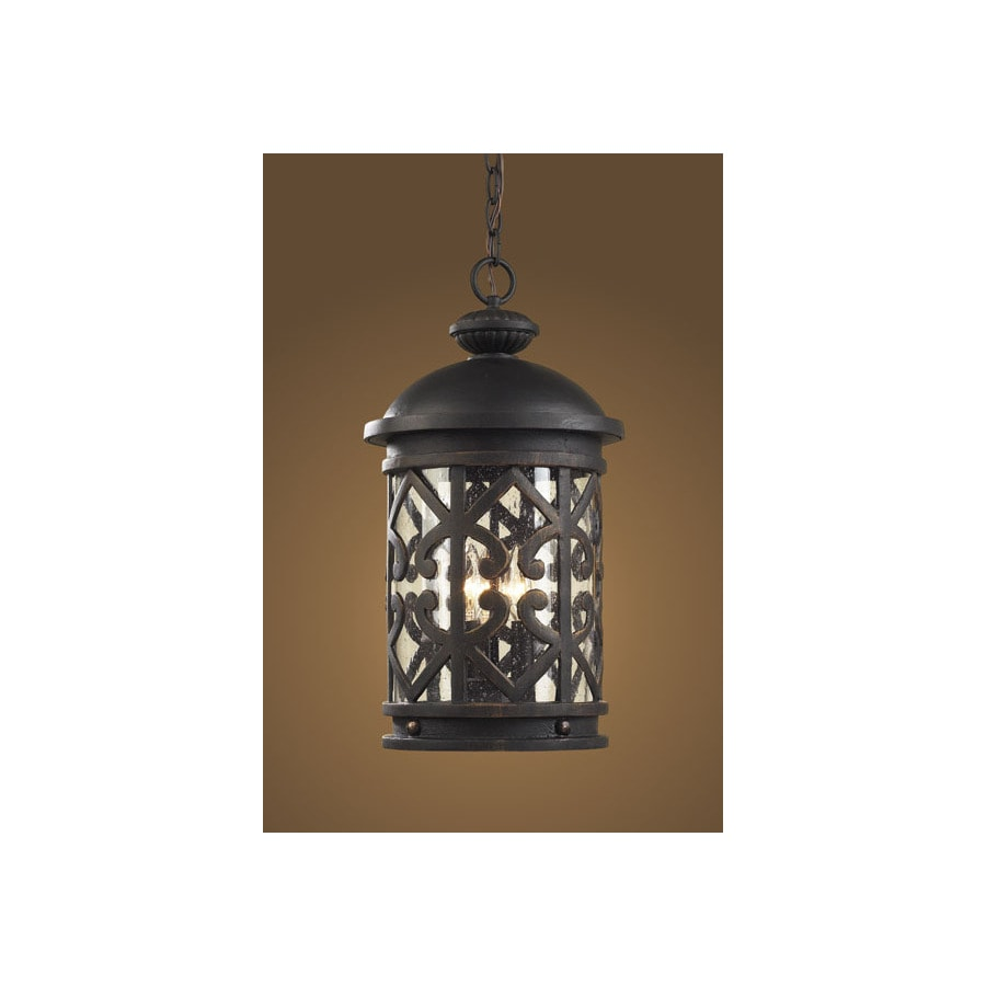 Westmore Lighting 19-in H Weathered Charcoal Outdoor Pendant Light