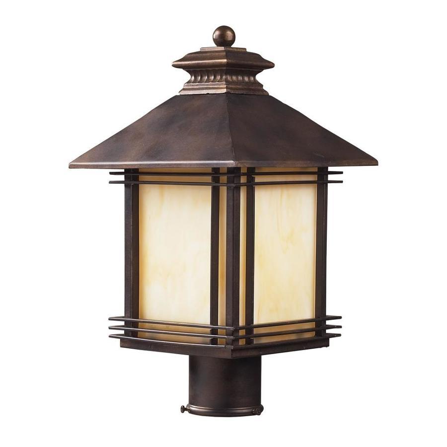 Westmore Lighting Croglio 18-in H Hazelnut Bronze Post Light