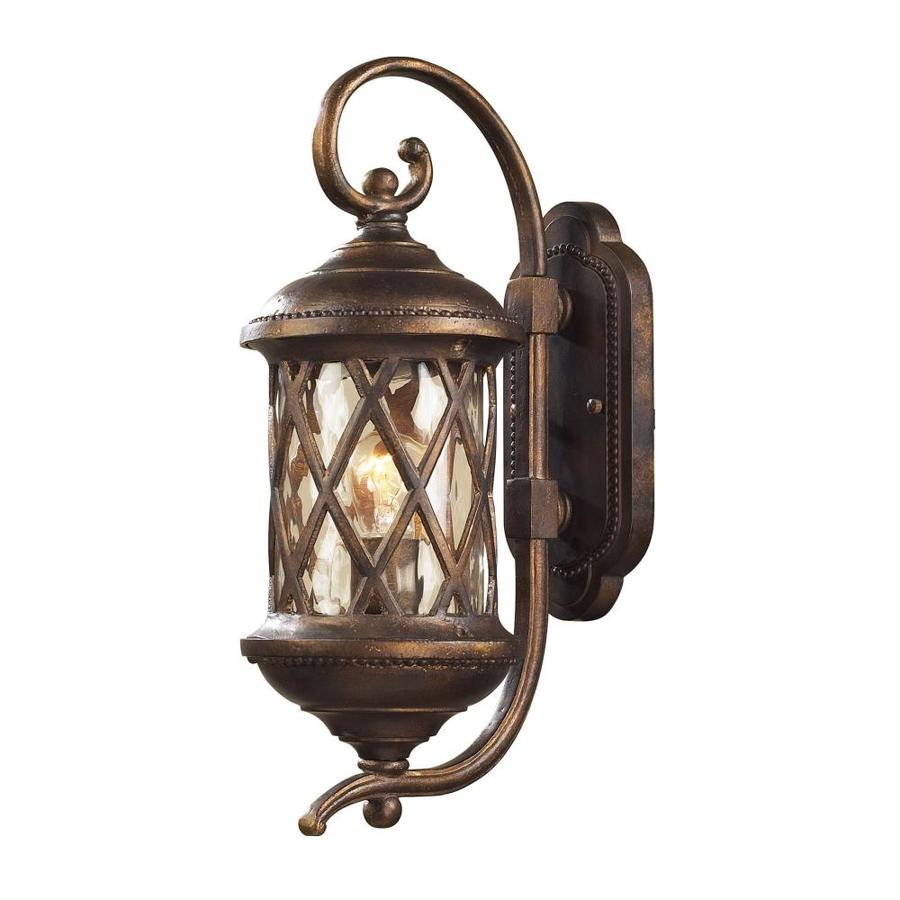 Westmore Lighting Ludwig 18-in H Hazelnut Bronze Outdoor Wall Light