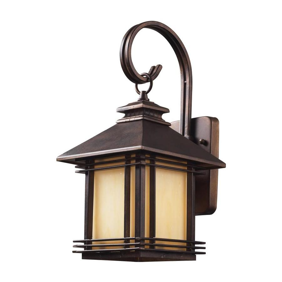 Westmore Lighting Croglio 16-in H Hazelnut Bronze Outdoor Wall Light