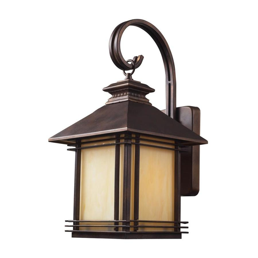 Westmore Lighting Croglio 19-in H Hazelnut Bronze Outdoor Wall Light