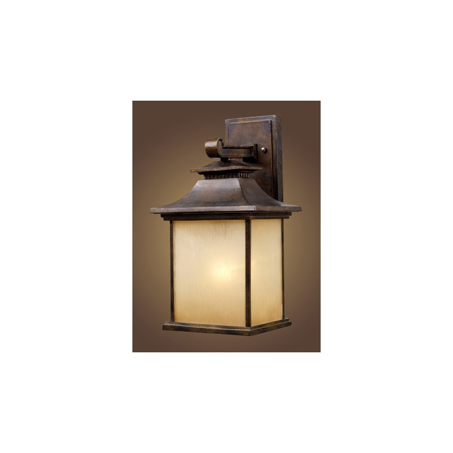Westmore Lighting Palo Alto 16-in H Hazelnut Bronze Outdoor Wall Light