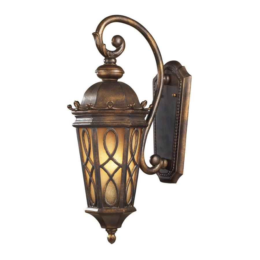 Westmore Lighting Whitby 23-in H Hazelnut Bronze Outdoor Wall Light