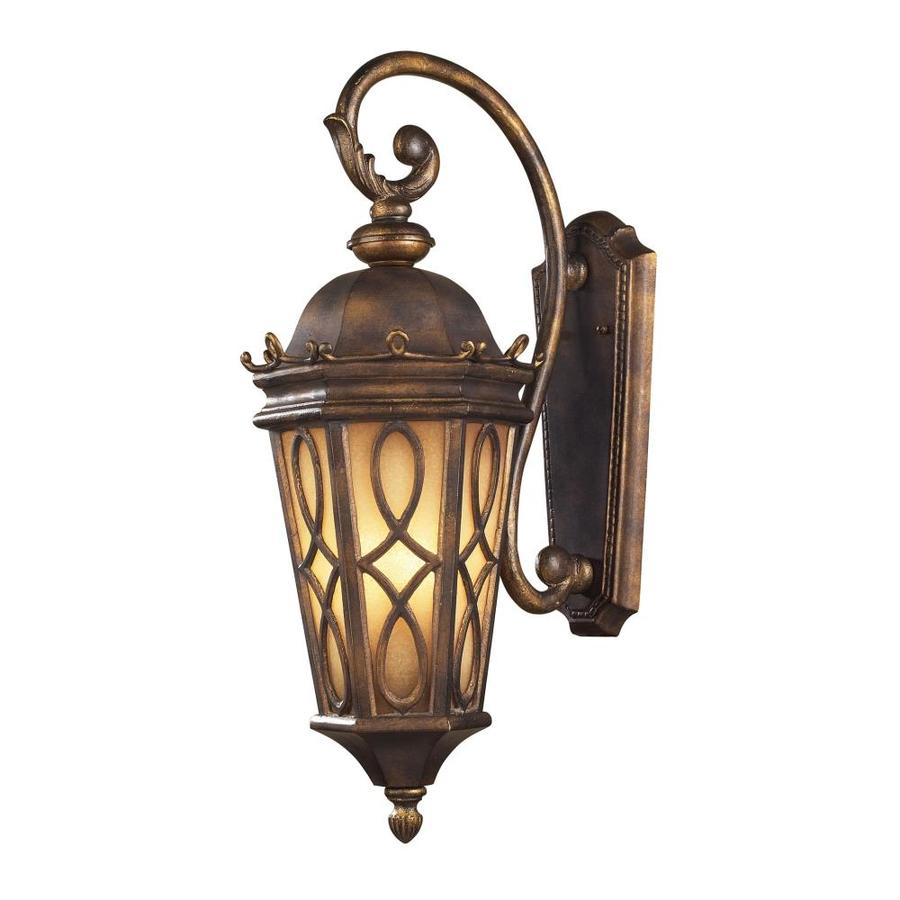 Westmore Lighting Whitby 27-in H Hazelnut Bronze Outdoor Wall Light