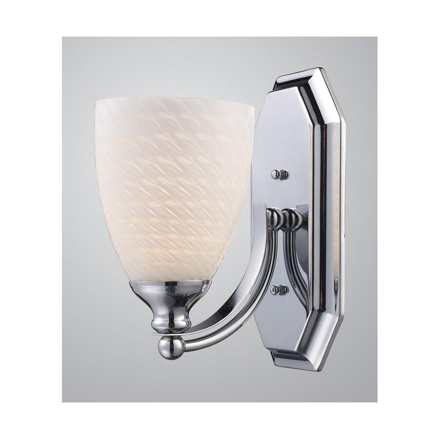 shop westmore lighting 1 light polished chrome bathroom vanity light
