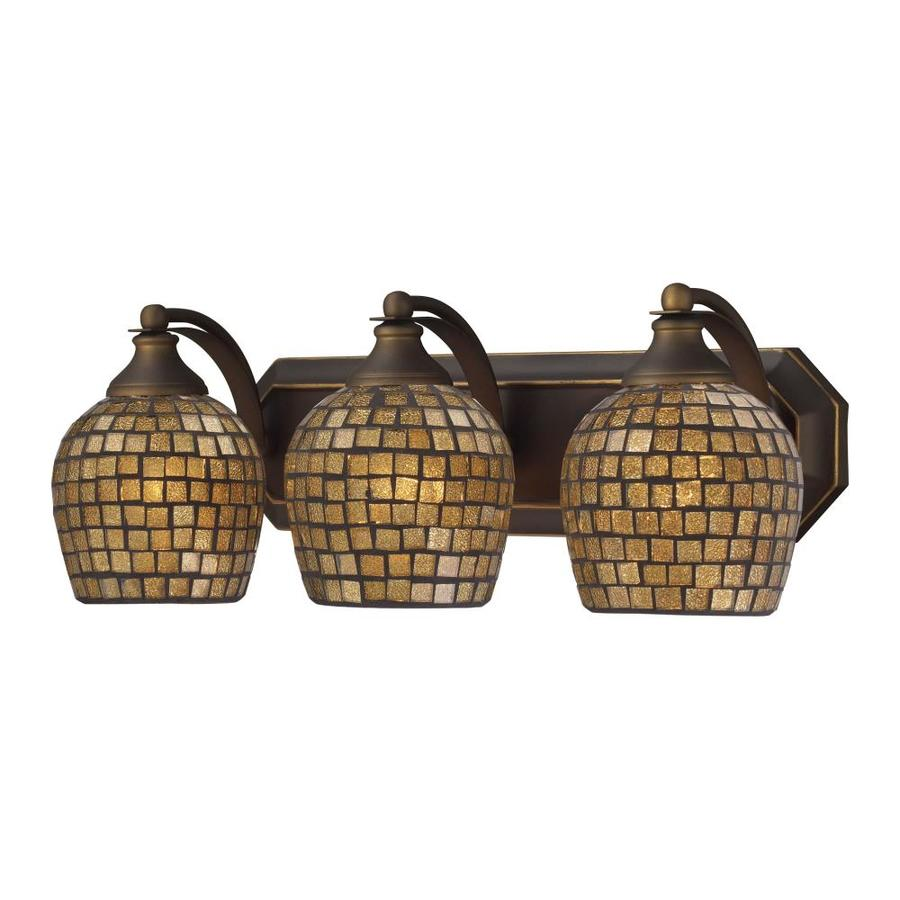 Westmore Lighting Homestead 3-Light 7-in Aged bronze Bowl Vanity Light