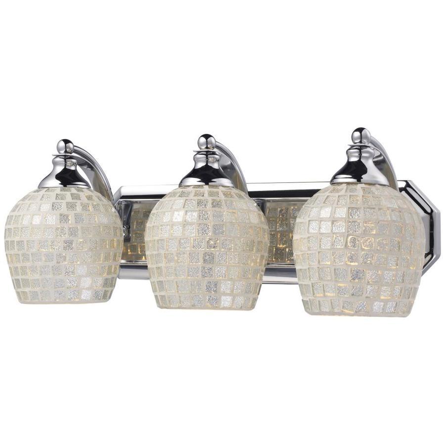 Westmore Lighting Homestead 3-Light 7-in Polished Chrome Bowl Vanity Light