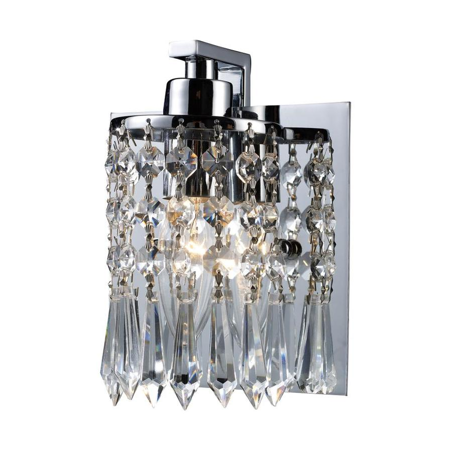 Westmore Lighting Lucencia 1-Light 7-in Polished Chrome Vanity Light