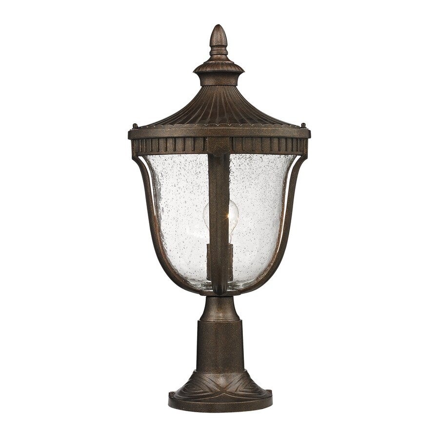Westmore Lighting Seville 23-in H Hazelnut Bronze Post Light
