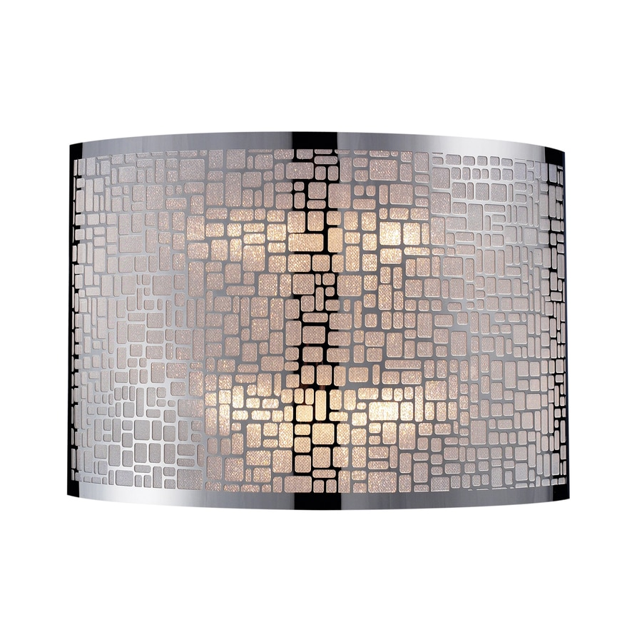 Westmore Lighting 11-in W 1-Light Polished Stainless Steel Pocket Hardwired Wall Sconce