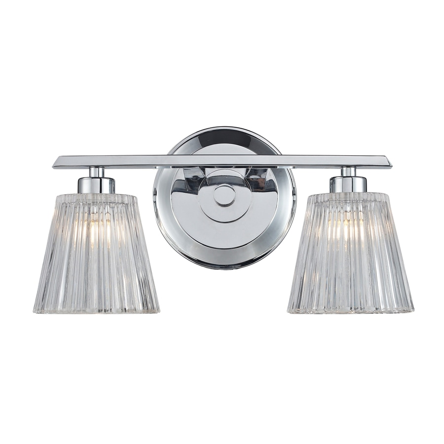 Westmore Lighting Quai 2-Light 7-in Polished Chrome Cone Vanity Light