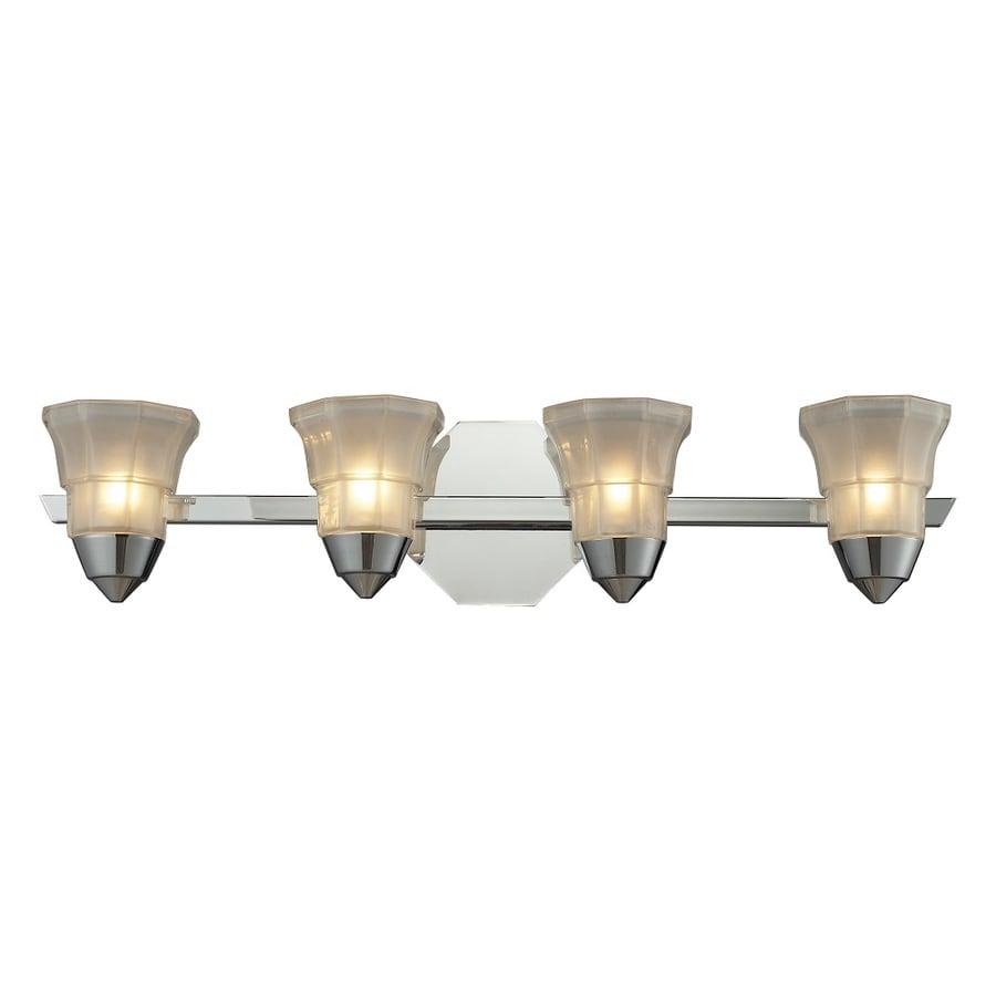 shop westmore lighting 4 light ashfield polished chrome with