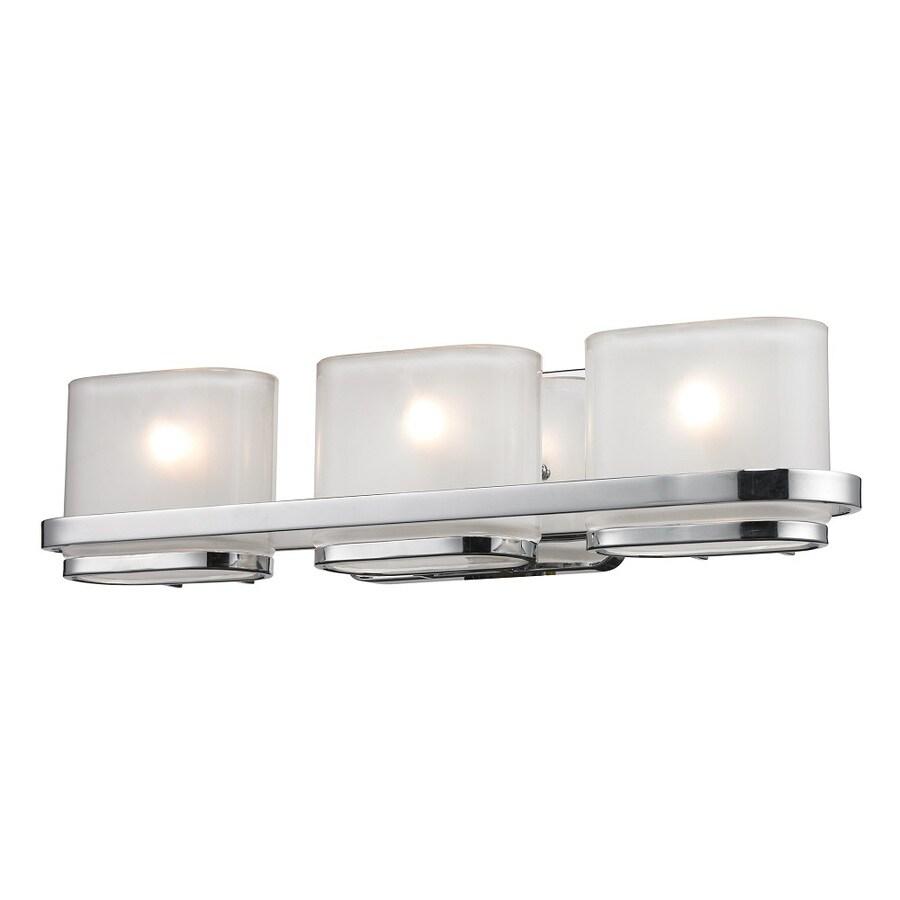 shop westmore lighting 3 light morrow polished chrome with