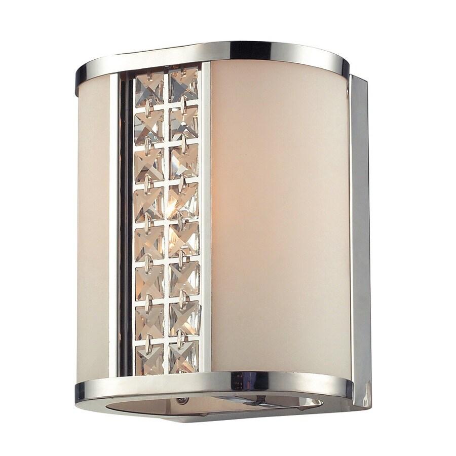 shop westmore lighting 1 light mecosta polished chrome and opal