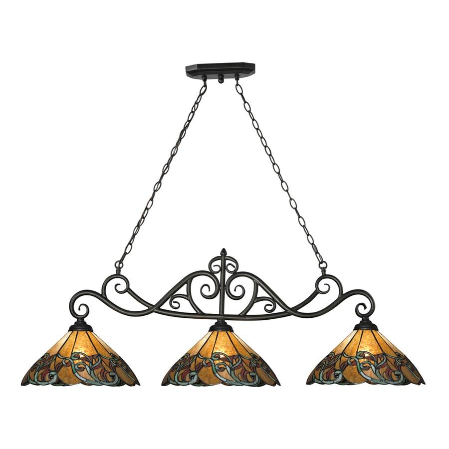 tiffany kitchen lights shop westmore lighting doveridge 51 in w 3 light 2737