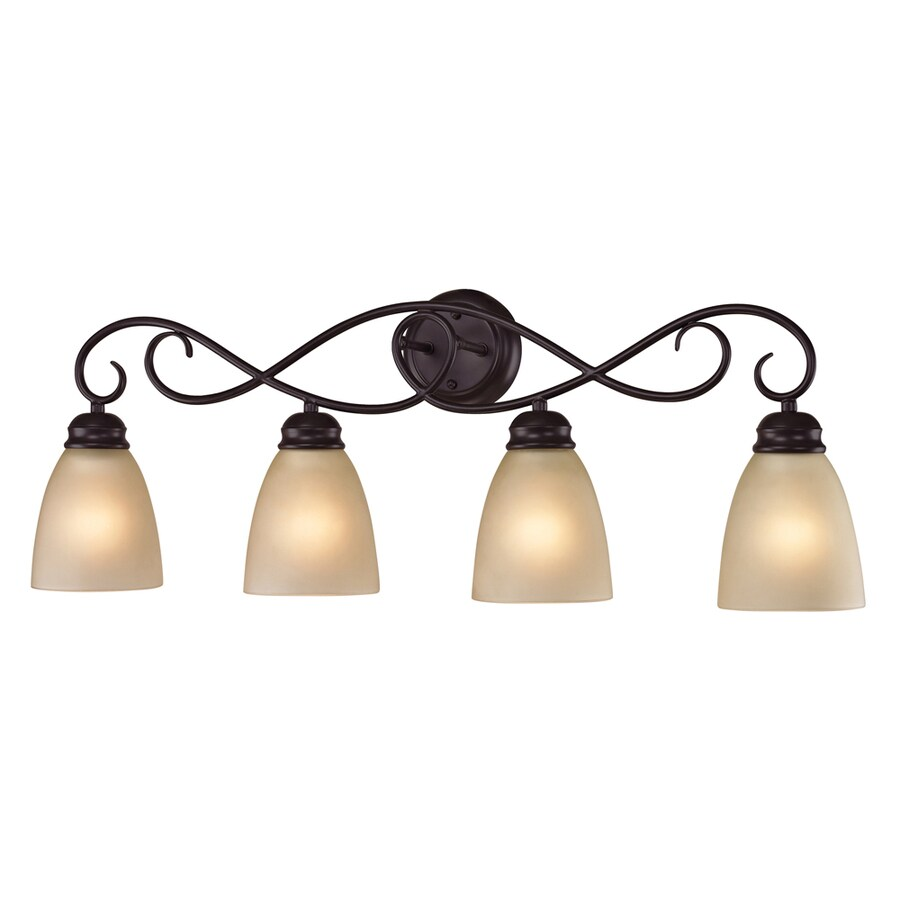 Shop Westmore Lighting Sunbury 4 Light 11 In Oil Rubbed