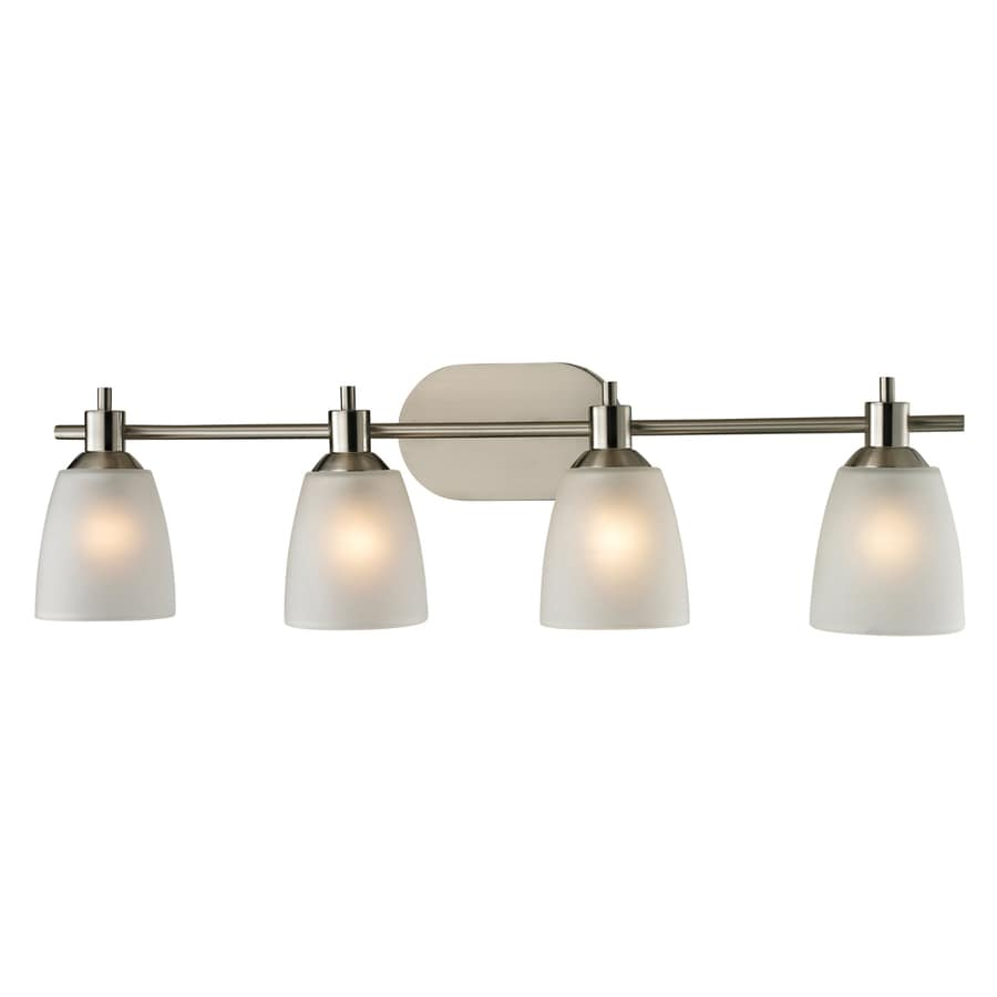 Westmore Lighting Fillmore 4-Light Brushed Nickel Oval Vanity Light