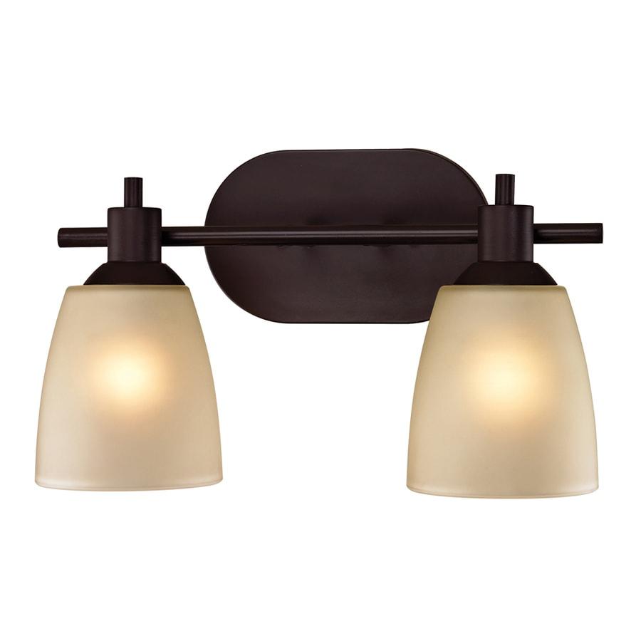 Westmore Lighting Fillmore 2-Light Oil Rubbed Bronze Oval Vanity Light