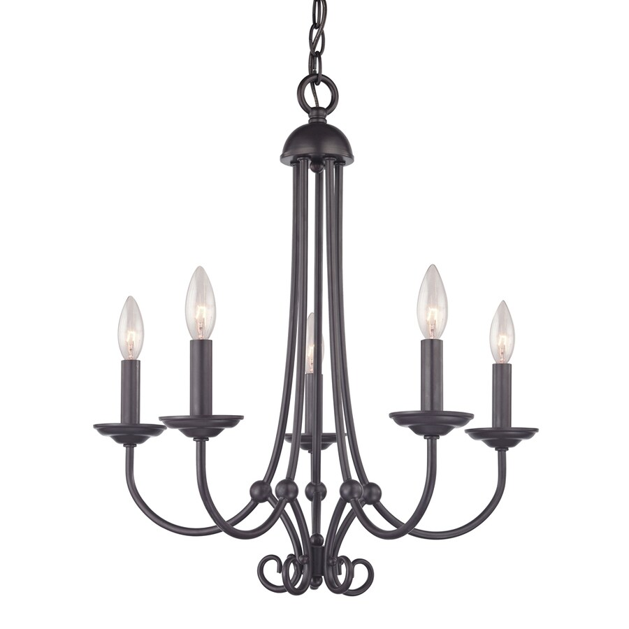 Chandelier Lighting At Costco: Westmore Lighting Weatherly 5-Light Oil Rubbed Bronze