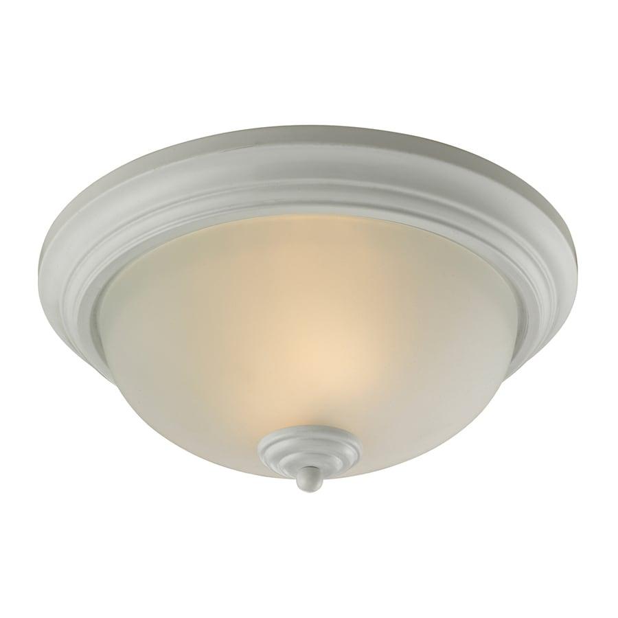 Westmore Lighting 13-in W White Integrated Flush Mount Light