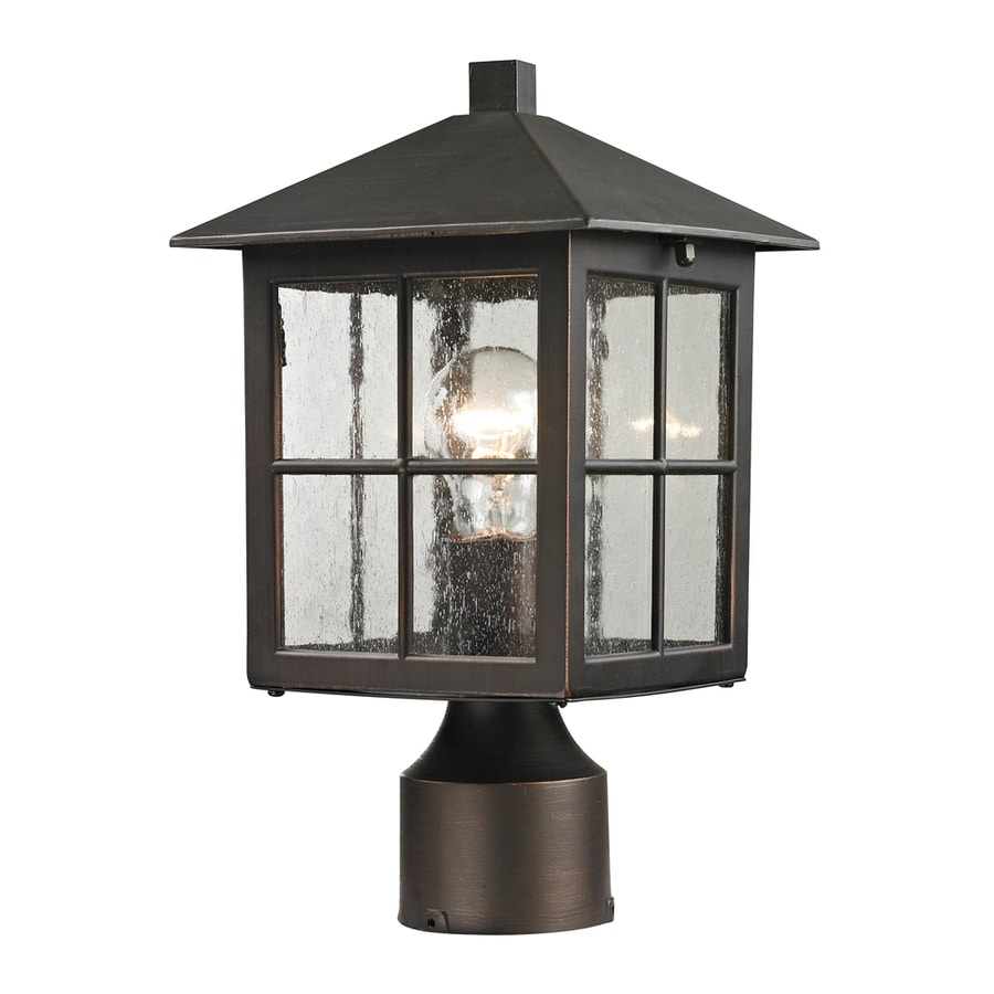 Outdoor Lamp Post B Q: Westmore Lighting Colchester 1-Watt 11-in Hazelnut Bronze