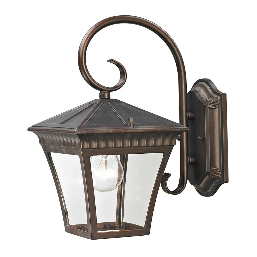 Westmore Lighting Colebrook 12.3-in H Hazelnut Bronze Outdoor Wall Light