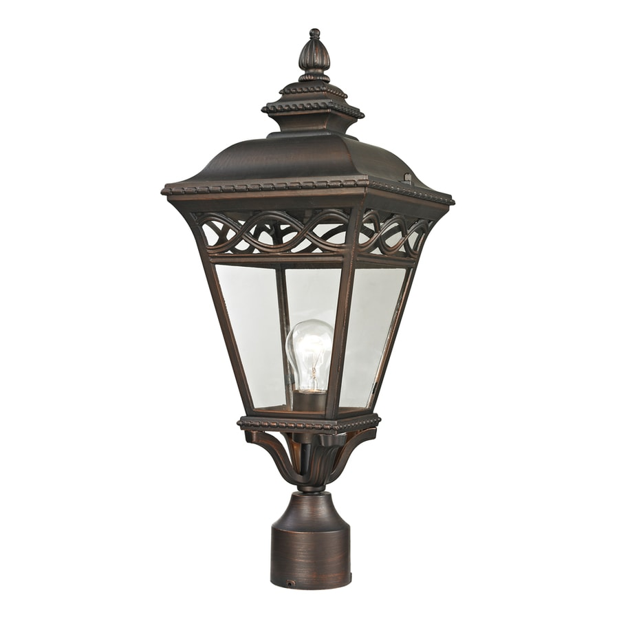 Westmore Lighting Beauport 22.4-in H Hazelnut Bronze Post Light