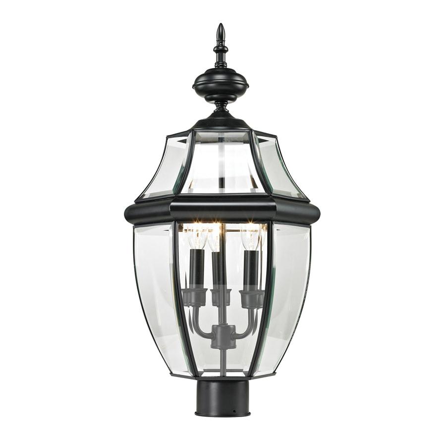Westmore Lighting Keswick 23-in H Black Post Light