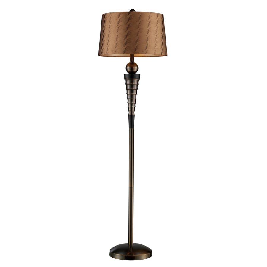 Shop westmore lighting reddy 62 in gaelic bronze 3 way for 3 way 150 watt floor lamp