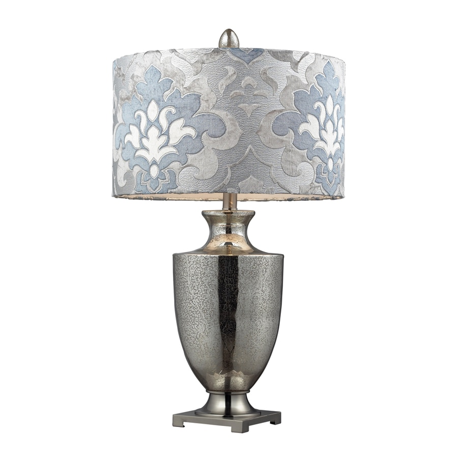 Westmore Lighting Cassini 31-in Mercury Standard 3-Way Switch Table Lamp with Fabric Shade