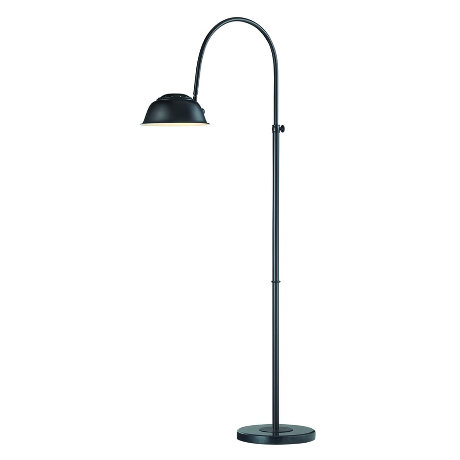 Westmore Lighting Scotia 55-in Oil Rubbed Bronze Floor Lamp with Metal Shade