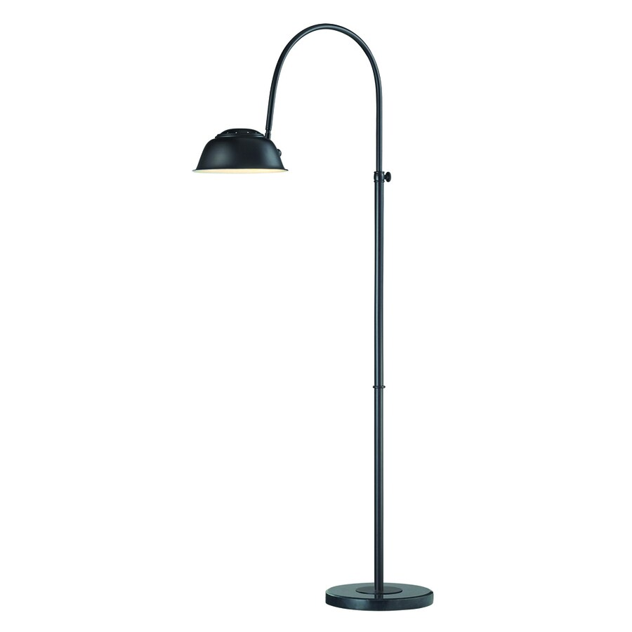 Westmore Lighting Scotia 55-in Oil Rubbed Bronze Shaded Floor Lamp Indoor Floor Lamp with Metal Shade