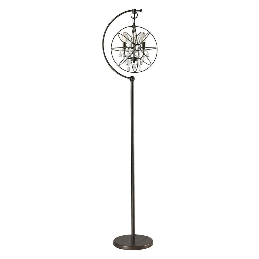 Westmore Lighting Copernicus 69-in Oil Rubbed Bronze Floor Lamp with Metal Shade