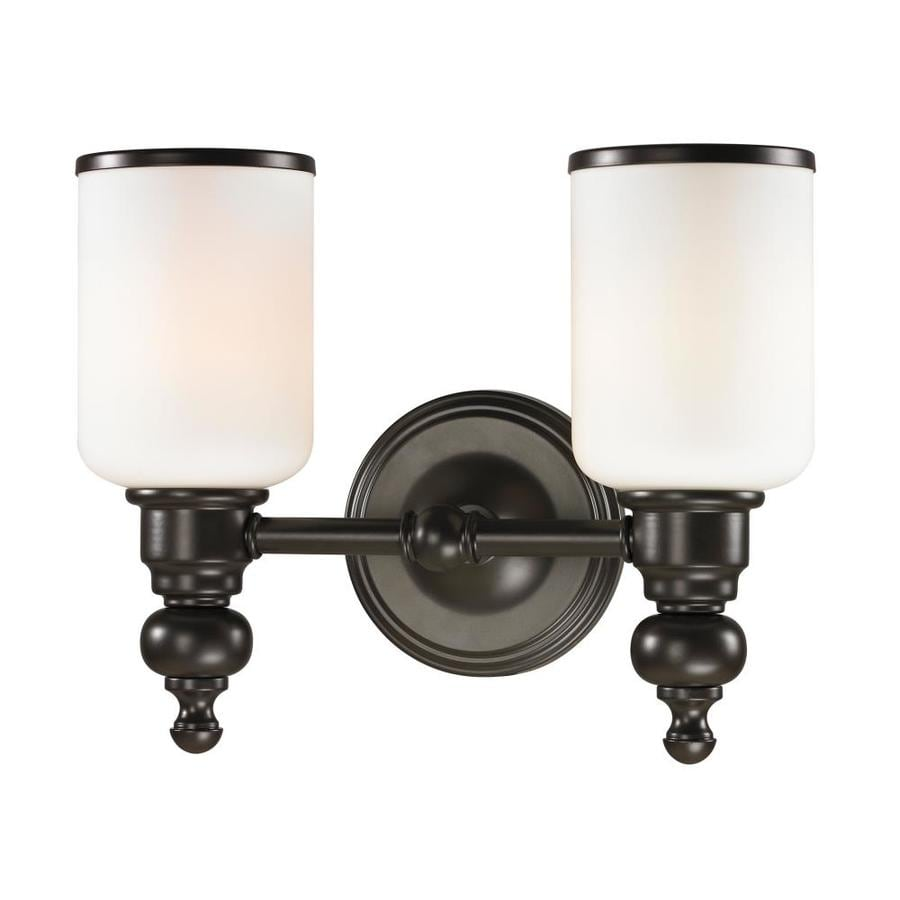 Westmore lighting trimalchio 2 light oil rubbed - Bathroom lighting oil rubbed bronze ...