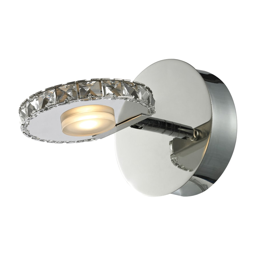 Westmore Lighting Maelstrom 1-Light 6-in Polished Chrome Integrated LED Vanity Light