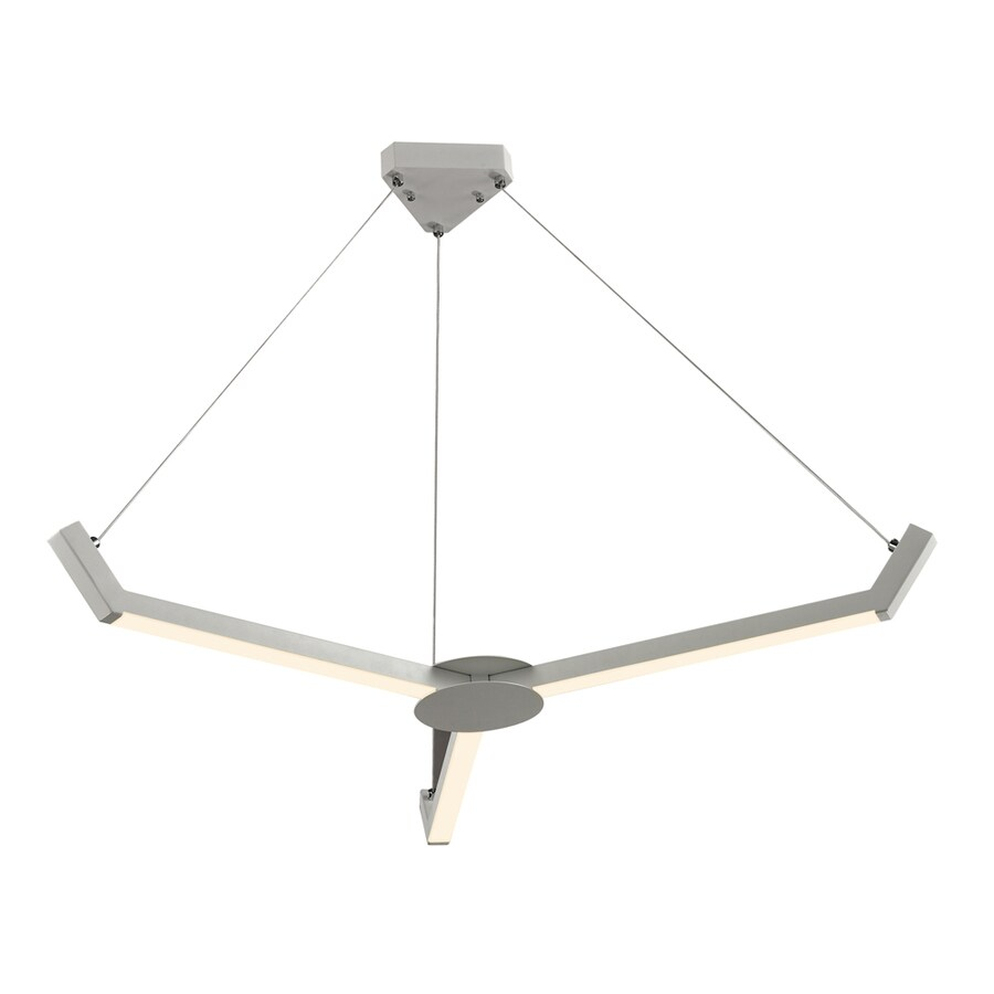 Westmore Lighting Valour 43-in Matte White Abstract Mini LED Chandelier